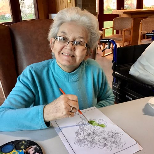 St Mary's Nursing Home Arts and crafts activities